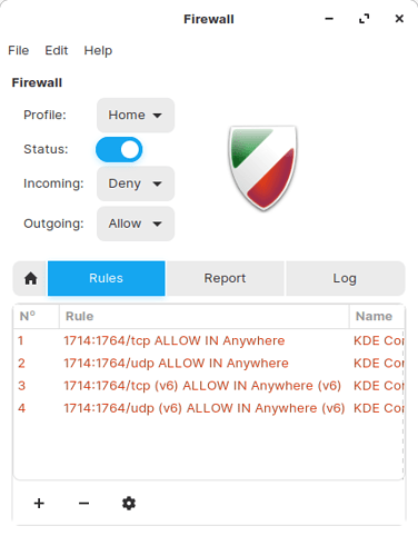 Zorin-Connect-firewall-rules