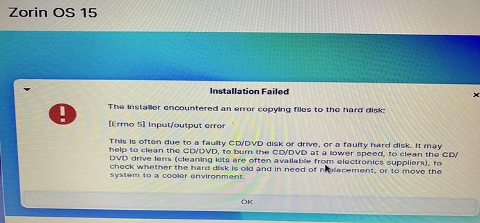 Zorin.15.3.installer.error