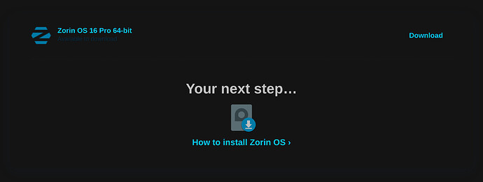 Zorin OS16 Purchased