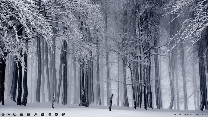 Zorin OS - Winter