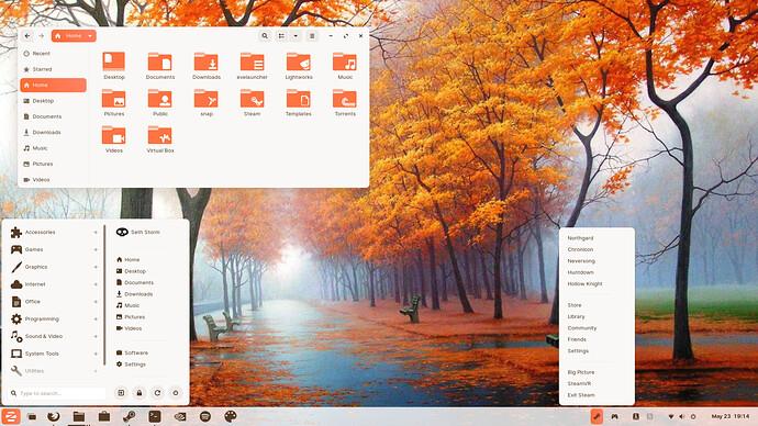 Orange Desktop