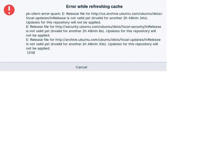 Zorin-16-software-updates-error-B