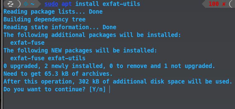 exfat-install
