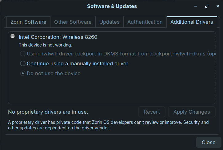 software and updates