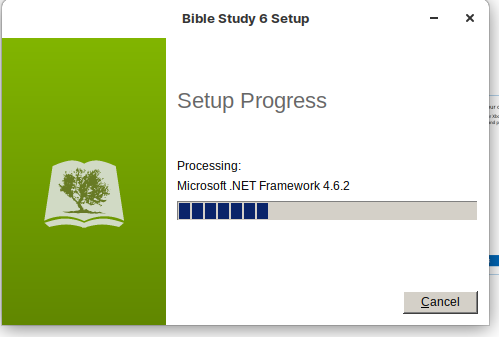 Setup Process. Processing Microsoft .NET Framework 4.6.2