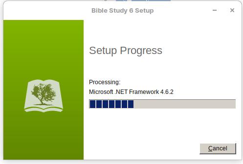 Processing Microsoft .NET Framework 4.6.2 stalled