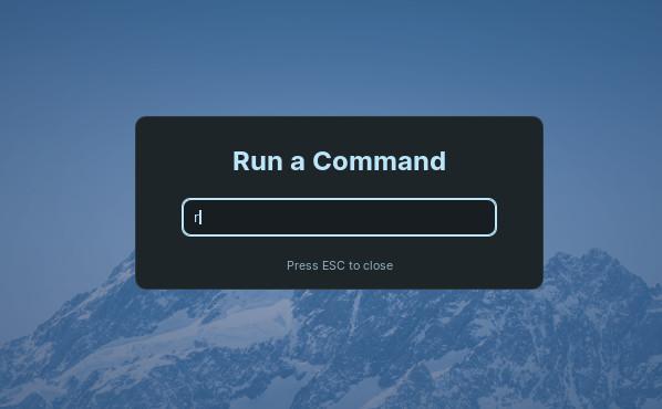 Reload Desktop